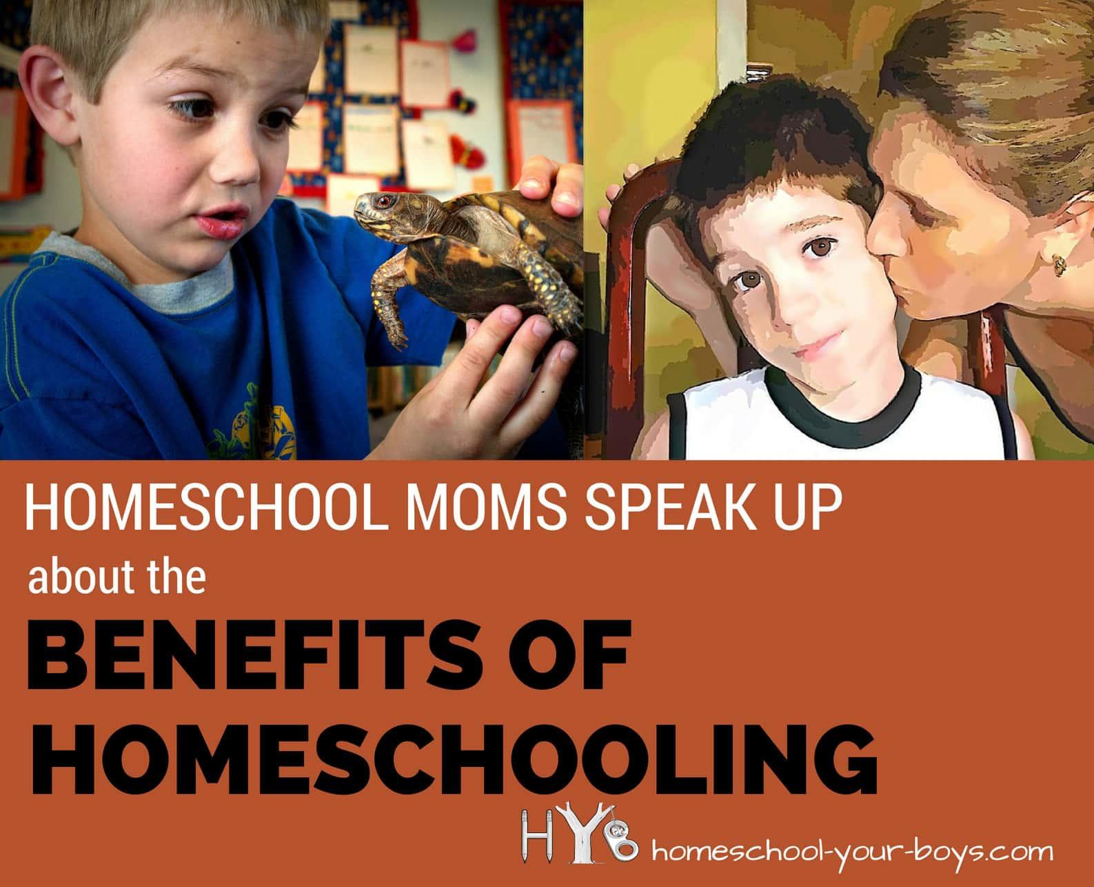 Homeschool Moms Speak Up About the Benefits of Homeschooling