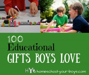 100 Educational Gifts Boys Love