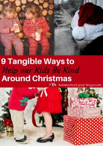 Want to avoid having greedy kids? In this post, I give you practical advice for how to help your children develop kindness. Click through to learn 9 tangible ways to teach your kids to be kind. | kind kids | character study | christmas kindness |