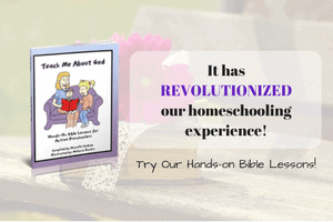 Teach Me About God: Hands-on Lessons for Active Preschoolers