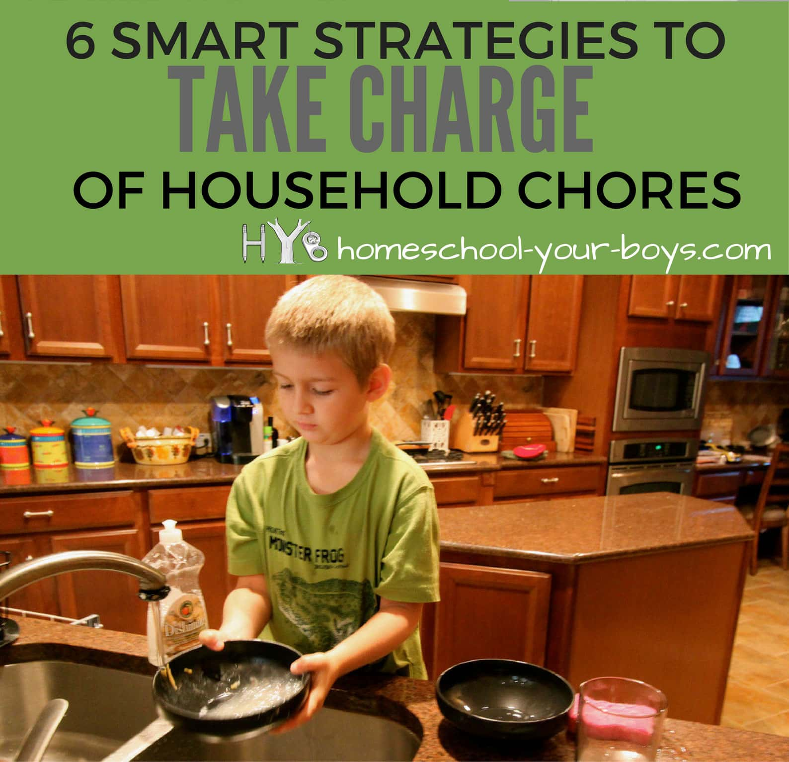 6 Smart Strategies to Take Charge of Household Chores