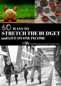 Money tight? In this post, I show you 60 different ways that you can save money. Click through to see how YOU can spend less every month! | save money | stretch budget | one income |