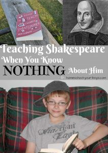 Teaching Shakespeare When You Know Nothing About Him