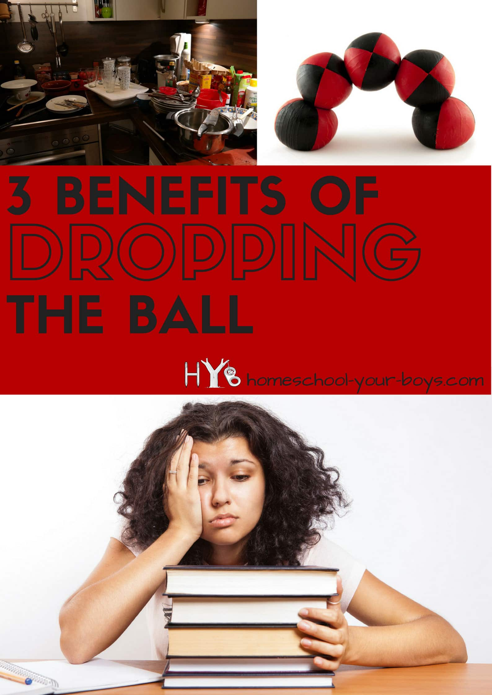 3 Benefits of Dropping the Ball