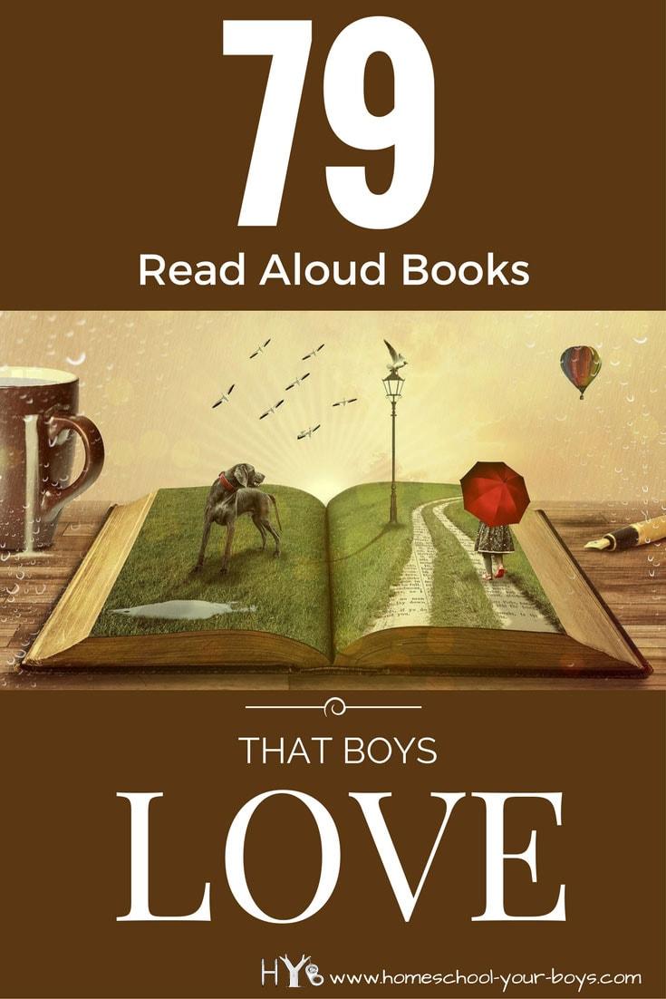 79 Read Aloud Books That Boys Love