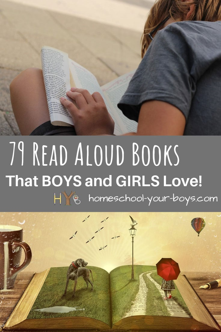 79 Read Aloud Books that Boys and Girls Love