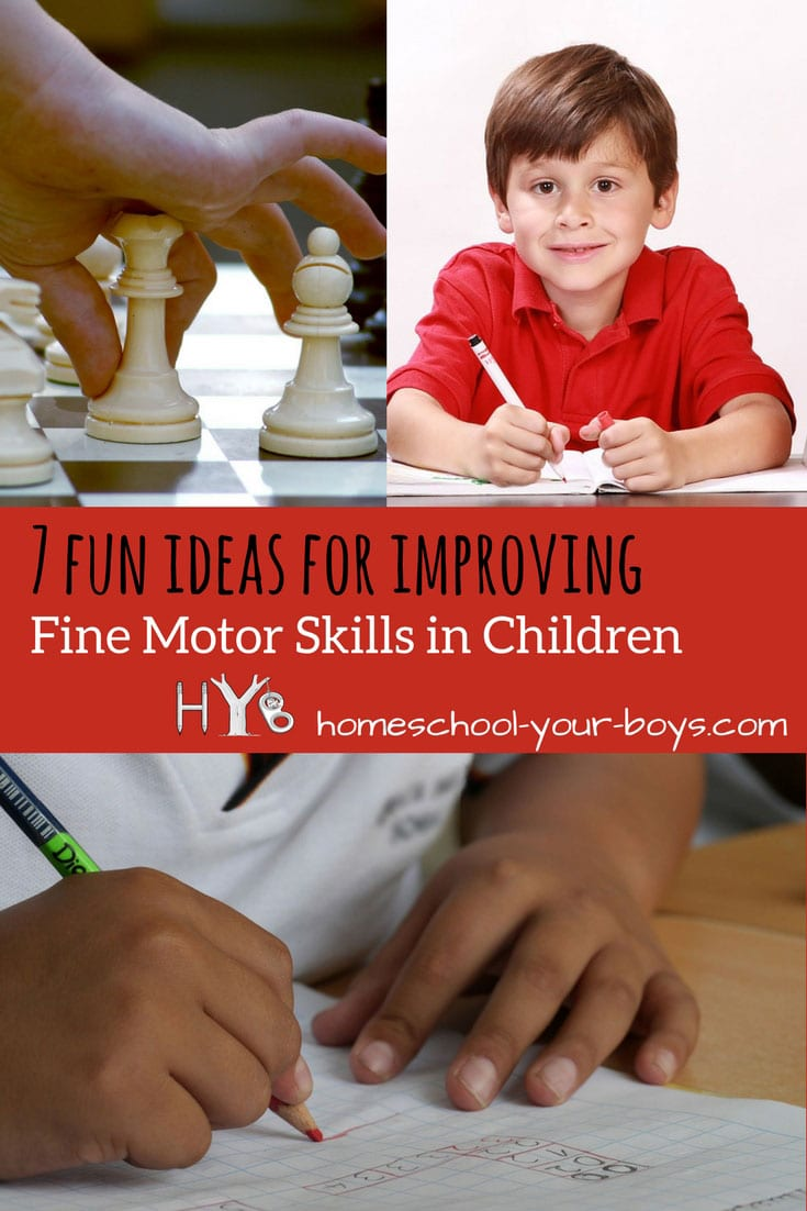 7 Fun Ideas for Improving Fine Motor Skills