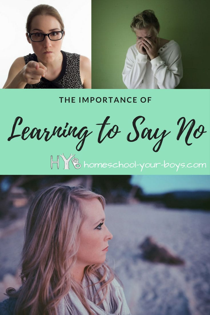 The Importance of Learning to Say No