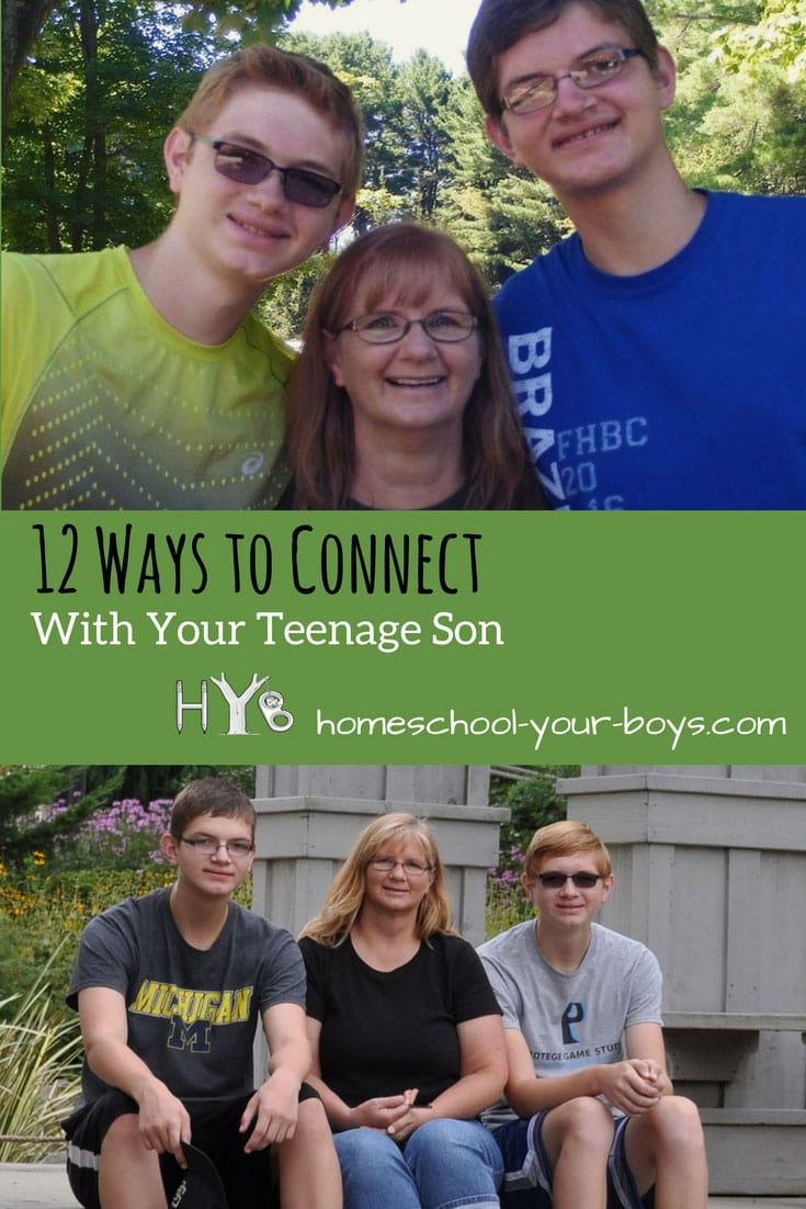 12 Ways to Connect with Your Teenage Son
