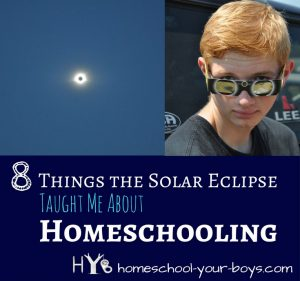 8 Things the Solar Eclipse Taught Me About Homeschooling