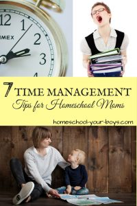 Have a hard time juggling all of your responsibilities? Try implementing these time management tips for homeschool moms & your productivity will soar. | time management tips | homeschool mom | homeschool mom time management |