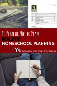 Do you struggle with homeschool planning? Click through to discover some realistic homeschool planning methods!   homeschool planning   planning   realistic homeschool planning  