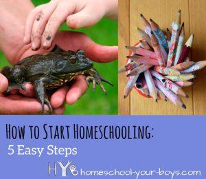 How to Start Homeschooling: 5 Easy Steps
