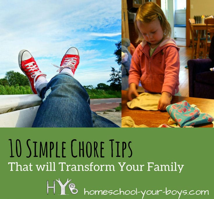 10 Simple Chore Tips That Will Transform Your Family