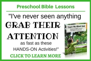 Preschool Bible Lessons