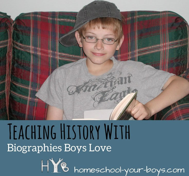 Teaching History with Biographies Boys Love