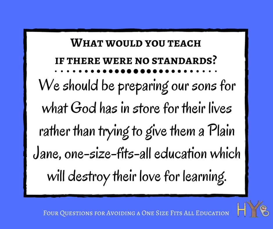 4 Questions for Avoiding a One Size Fits All Education