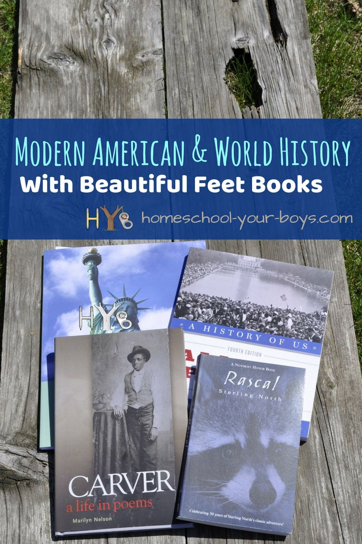 Modern American & World History with Beautiful Feet Books