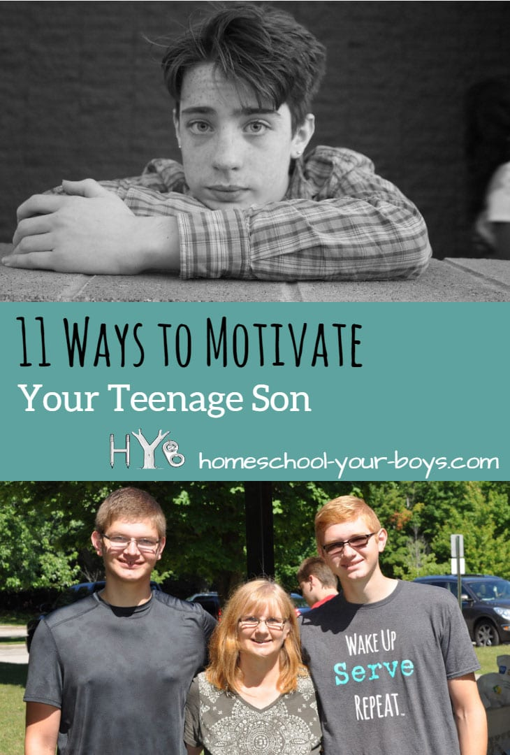 11 Ways to Motivate Your Teenage Son