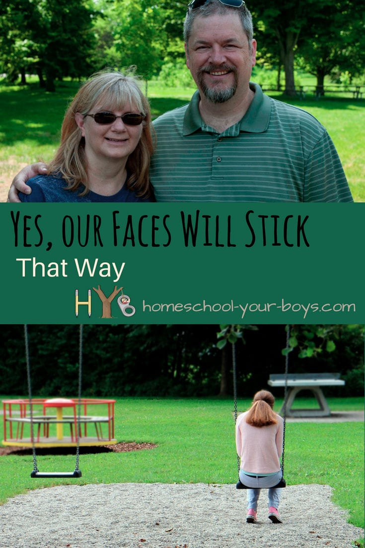 Yes, Our Faces Will Stick That Way