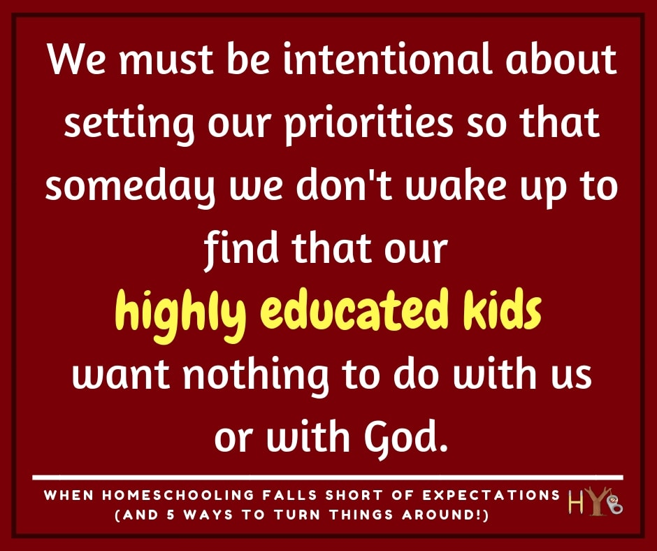 When Homeschooling Falls Short of Expectations (And 5 Ways to Turn Things Around!)