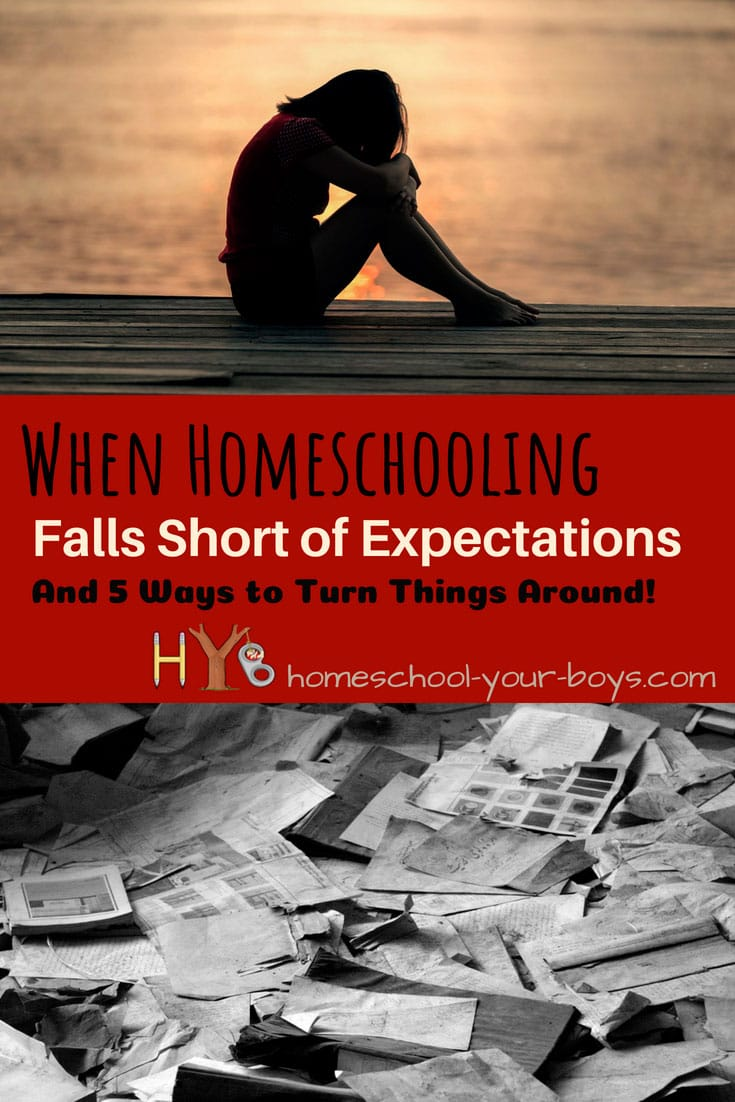 When Homeschooling Falls Short of Expectations: And 5 Ways to Turn Things Around!
