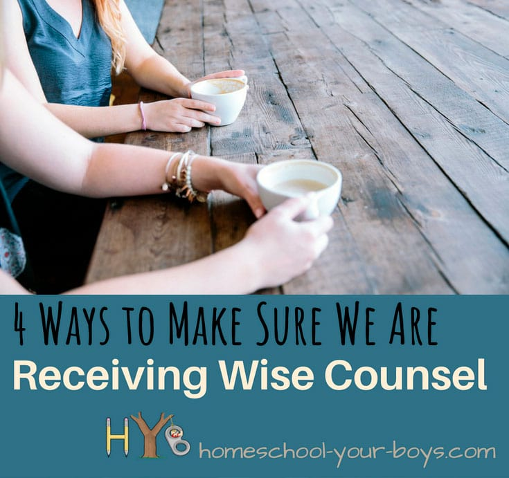 4 Ways to Make Sure We Are Receiving Wise Counsel