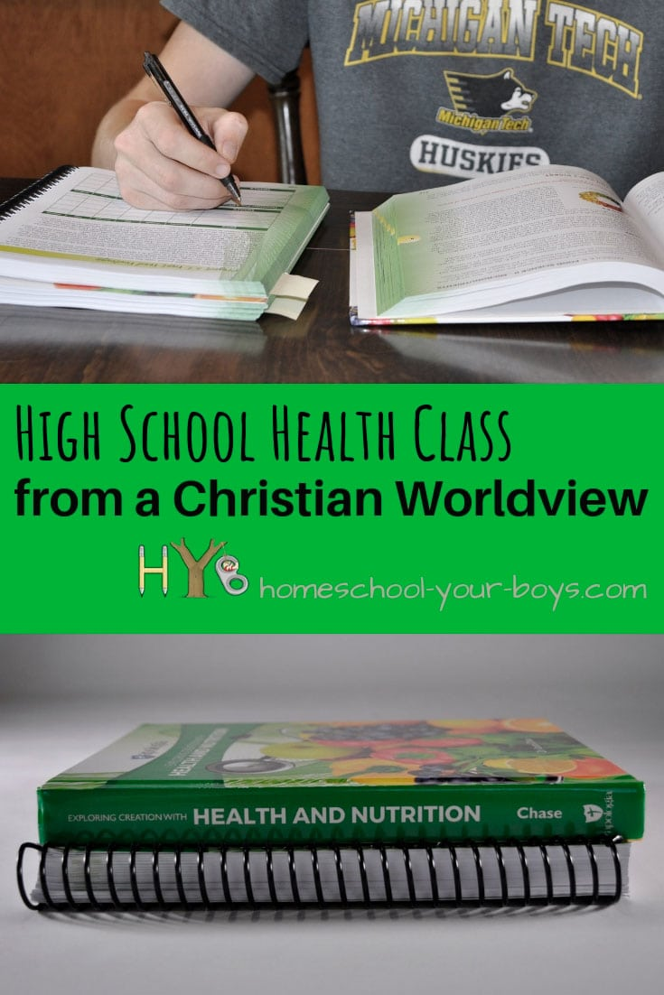 High School Health Class from a Christian Worldview