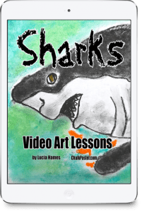 You Are an Artist Shark Video Art Lessons