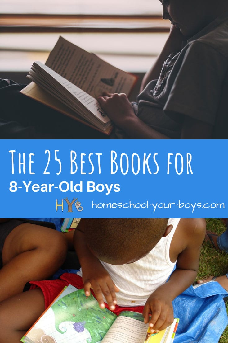 The 25 Best Books for 8-Year-Old Boys