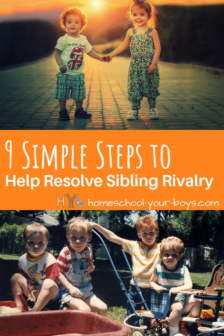 9 Ways to Help Resolve Sibling Rivalry