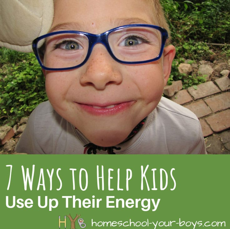 7 Ways to Help Kids Use Up Their Energy