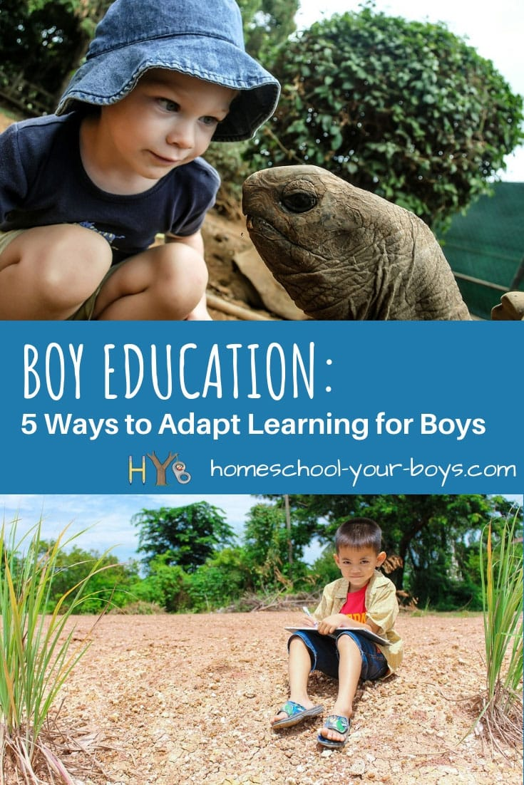 Boy Education: 5 Ways to Adapt Learning for Boys