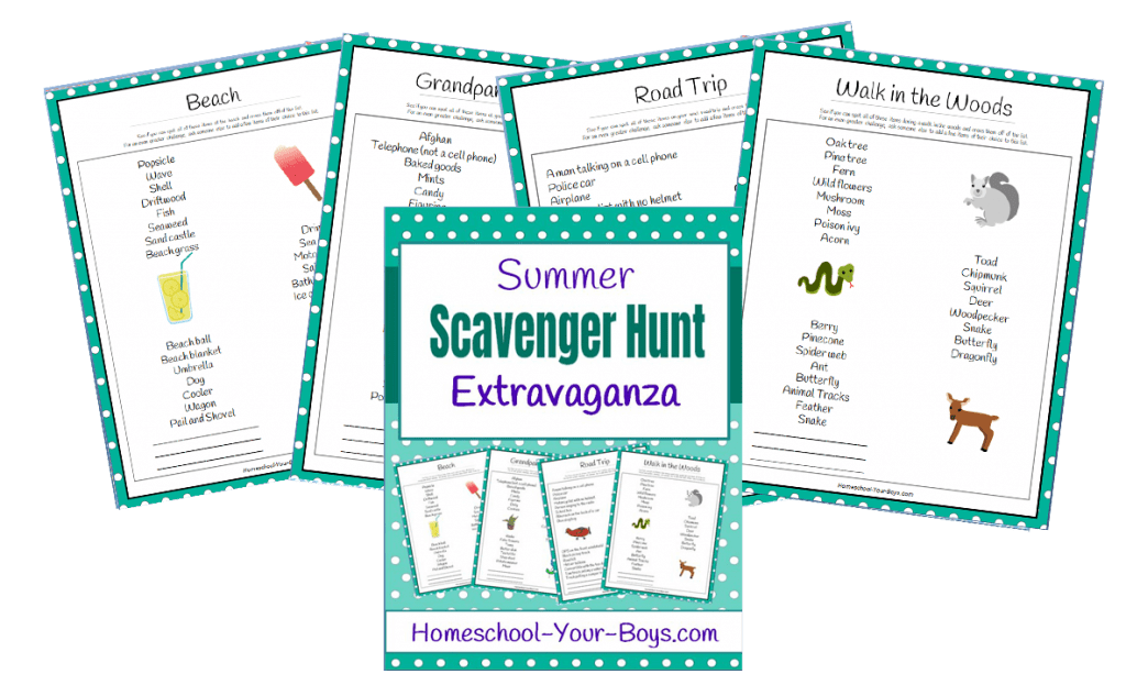 Summer Scavenger Hunt Extravaganza