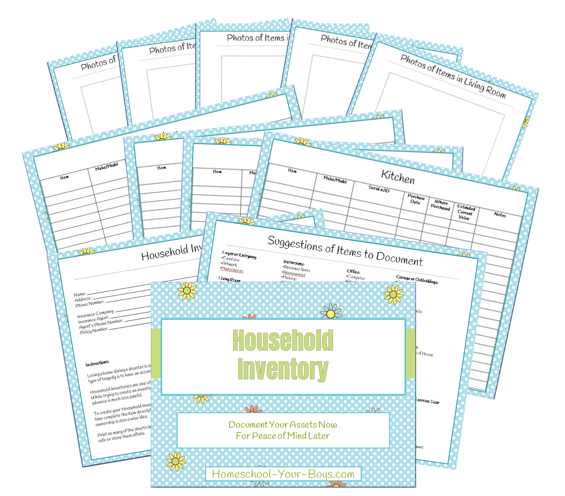 Household Inventory for Disaster Recovery