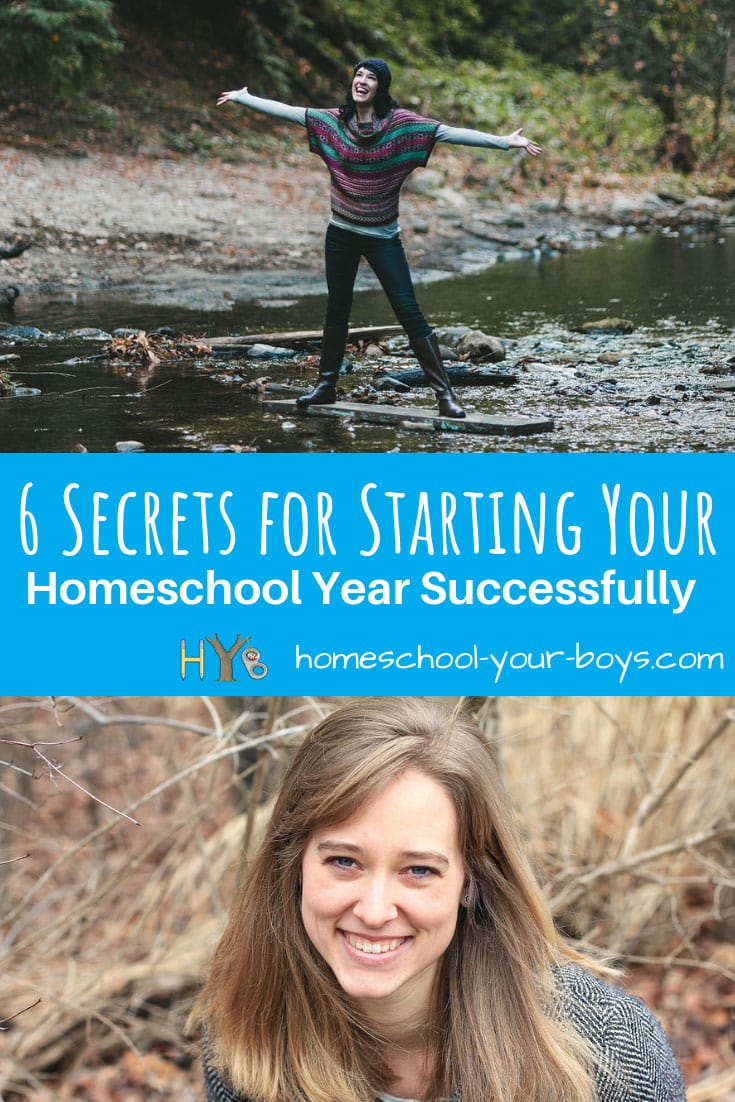 6 Secrets for Starting Your Homeschool Year Successfully