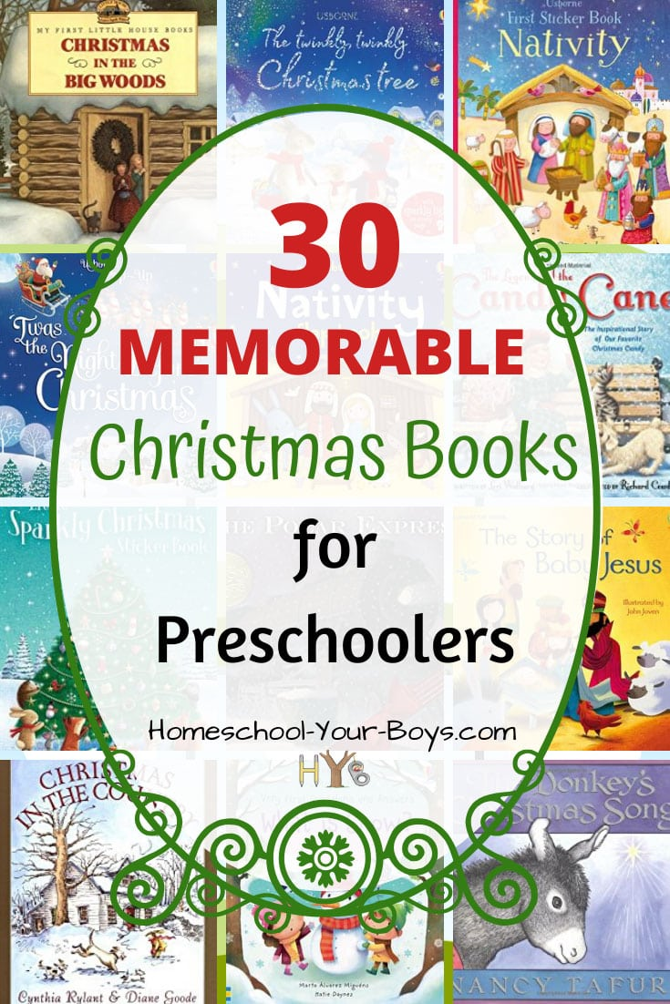 30 Memorable Christmas Books for Preschoolers